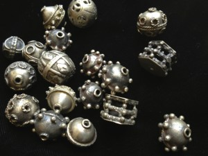 in and Yemeni silver beads