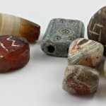 Group of 7 Mixed Ancient Focal Beads